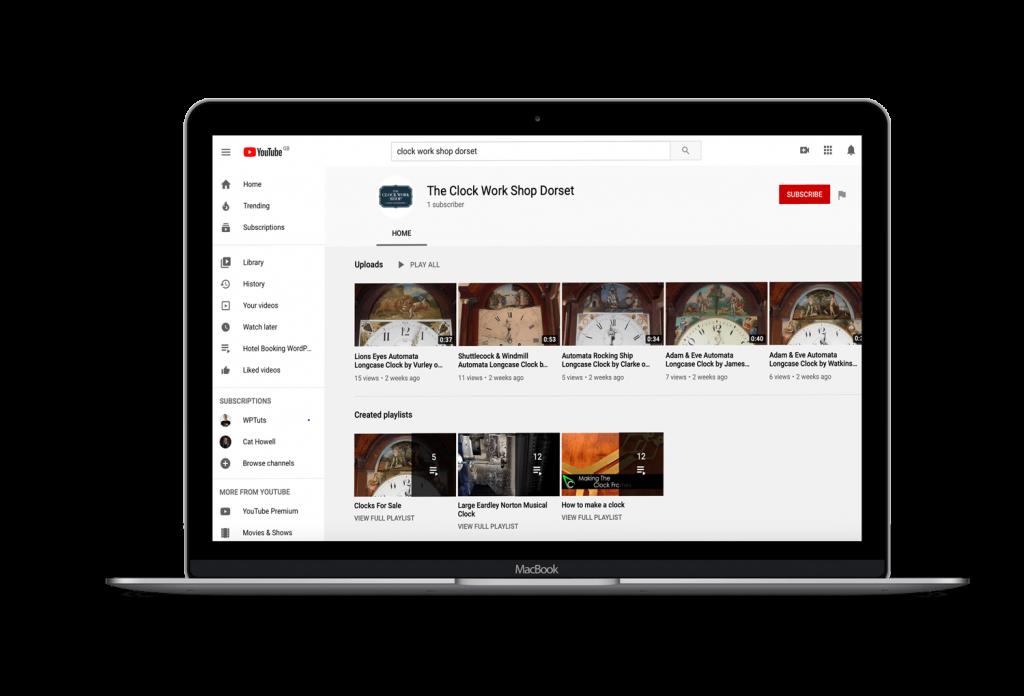 Clock-Work-Shop-YouTube