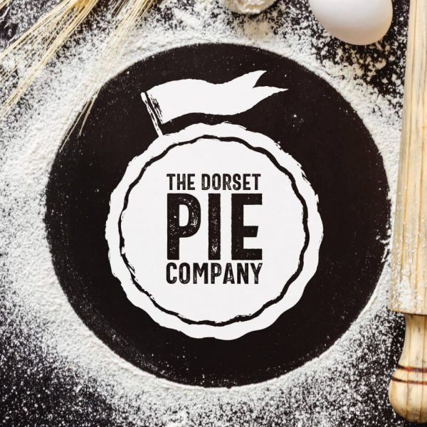 Dorset Pie Company logo in flour